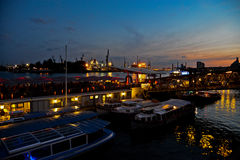 Acceso de Hamburgo Fotografía de archivo libre de regalías