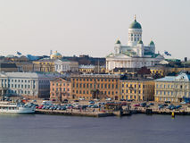 Acceso de Helsinki Imágenes de archivo libres de regalías