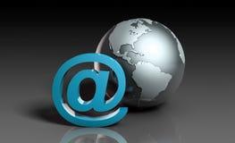 Acceso de Internet Imágenes de archivo libres de regalías