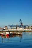 Acceso de la ciudad Foto de archivo libre de regalías
