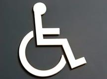 Acceso de la silla de rueda Imagen de archivo libre de regalías