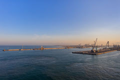 Acceso de Livorno, Italia fotografía de archivo
