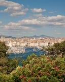 Acceso de Marsella Imagen de archivo libre de regalías