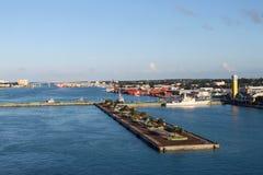 Acceso de Nassau imagenes de archivo