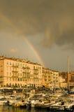 Acceso de Niza después de la tormenta imagenes de archivo