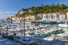 Acceso de Niza, Francia Imagenes de archivo