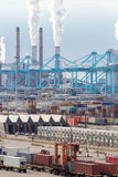 Acceso de Rotterdam Foto de archivo