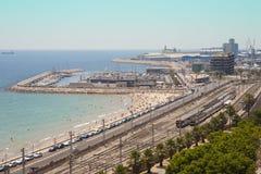 Acceso de Tarragona Imagen de archivo