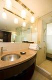 Acceso de Trinidad del cuarto de baño del hotel de lujo - de - España Fotografía de archivo libre de regalías