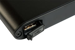 Acceso de USB impermeable, polvo-protegido Imagenes de archivo