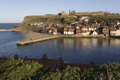 Acceso de Whitby - Yorkshire - Inglaterra Imágenes de archivo libres de regalías