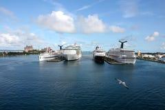 Acceso del barco de cruceros Imagen de archivo