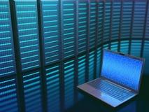 Acceso del centro de datos Fotografía de archivo