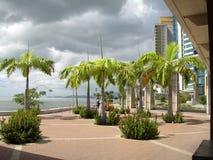 Acceso del desarrollo de línea de costa - de - España Trinidad Imágenes de archivo libres de regalías