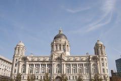 Acceso del edificio de Liverpool Imagenes de archivo