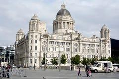 Acceso del edificio de Liverpool Foto de archivo libre de regalías