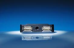 Acceso del USB Fotos de archivo libres de regalías