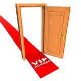 Acceso del Vip stock de ilustración