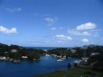 Acceso en St Lucia Fotos de archivo