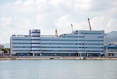 Acceso marítimo en Novorossiysk, Moscú Imagen de archivo