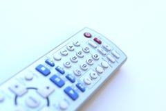 acceso remoto del control de la TV Imágenes de archivo libres de regalías