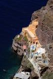 Acceso viejo de Santorini 2 fotografía de archivo