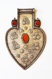 Accesorio de la joyería en la forma de corazón Foto de archivo libre de regalías