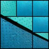 Accesorio de la lluvia del agua del tiempo de la seguridad del paraguas Fotos de archivo libres de regalías