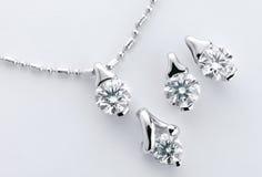 Accesorio del diamante Imágenes de archivo libres de regalías
