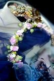 Accesorio del pelo para casarse a huéspedes Fotos de archivo