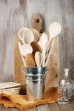 Accesorio rústico de la cocina Imagen de archivo libre de regalías