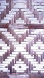 Accesorio tejido a mano de la pared Imagenes de archivo