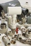 Accesorios de fontanería Imagen de archivo