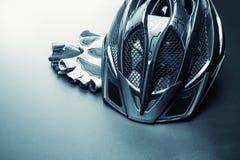Accesorios de la bicicleta Imagen de archivo libre de regalías