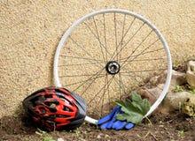 Accesorios de la bicicleta Imagenes de archivo