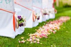 Accesorios de la boda Imágenes de archivo libres de regalías