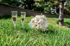 Accesorios de la boda Fotografía de archivo libre de regalías