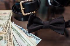 Accesorios de la boda en tienda y dólares Foto de archivo