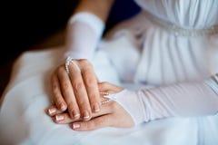 Accesorios de la boda, novia Imagen de archivo