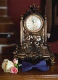 Accesorios de la boda para el novio fotos de archivo libres de regalías