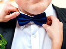Accesorios de la boda para el novio imágenes de archivo libres de regalías