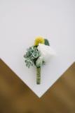 Accesorios de la boda para el novio Foto de archivo libre de regalías