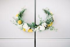 Accesorios de la boda para la novia Fotografía de archivo libre de regalías