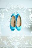 Accesorios de la boda, zapatos Imagen de archivo