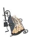 Accesorios de la chimenea Fotografía de archivo