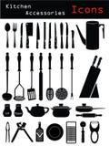 Accesorios de la cocina Imagen de archivo libre de regalías