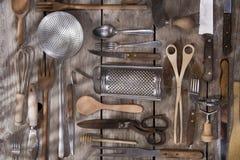 Accesorios de la cocina Imágenes de archivo libres de regalías