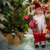 Accesorios de la decoración de la Navidad Fotos de archivo