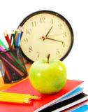 Accesorios de la escuela. Imagenes de archivo