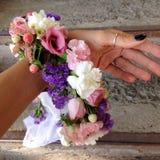 Accesorios de la flor Fotos de archivo libres de regalías